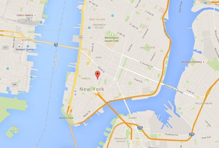 (GOOGLE MAPS / FRANCETV INFO)