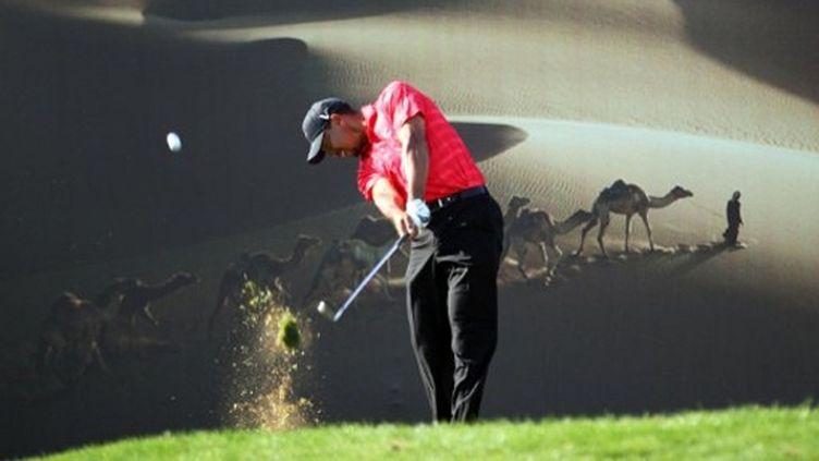 Tiger Woods termine troisième de l'Open d'Abu Dhabi