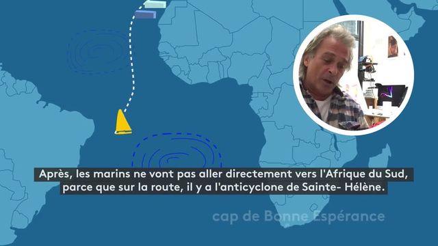 Le tracé du Vendée Globe commenté par un vainqueur