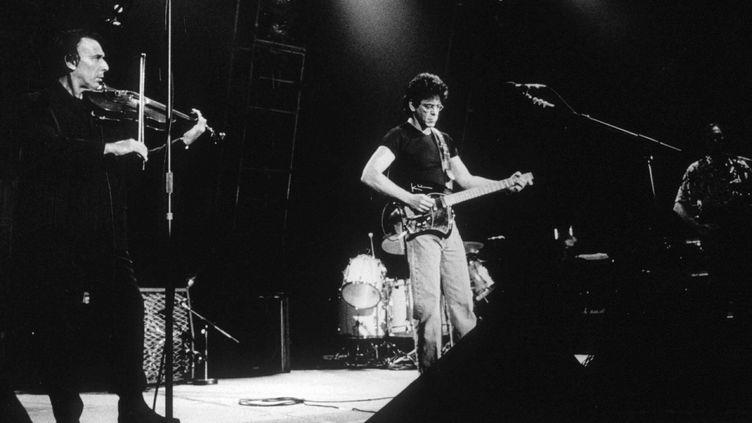 Le groupe Velvet Underground en concert à Londres en 1993  (HERBIE KNOTT/REX/REX/SIPA)