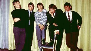 Le groupe de rock britannique The Animals en mai 1964, avec de gauche à droite :Alan Price, Eric Burdon, John Steel, Hilton Valentine et Bryan Chandler. (MARY EVANS/SIPA / SIPA)