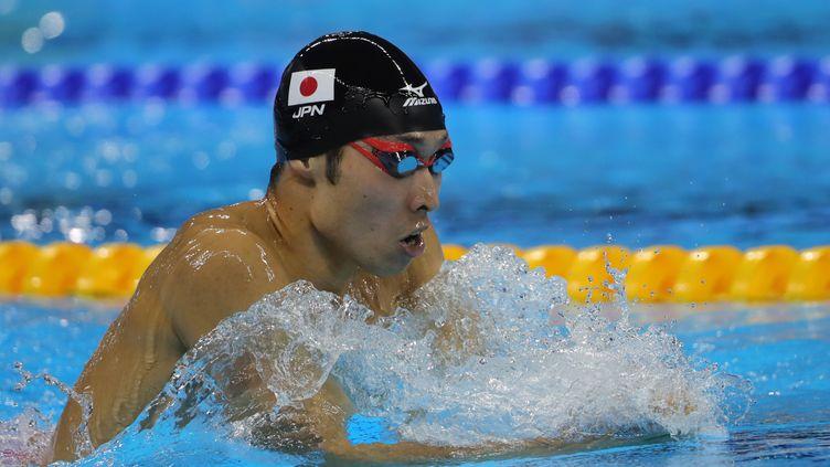 Après le bronze en 2012, Kosuke Hagino décroche l'or à Rio (MICHAEL KAPPELER / DPA)