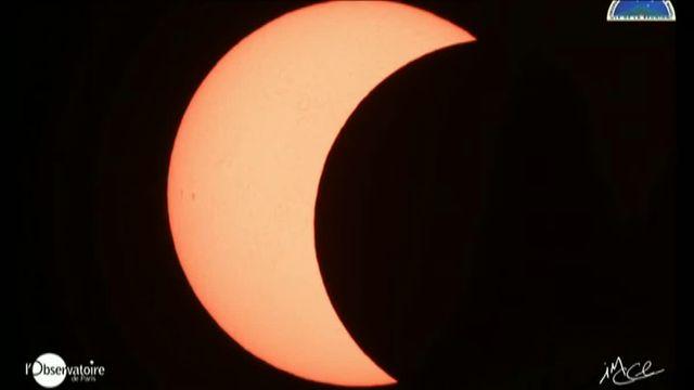 L'éclipse annulaire de Soleil vue de l'île de la Réunion