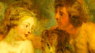 """""""Méléagre et Atalante"""" de Rubens, détail de la toile volée par Goering, Novembre 2014  (Culturebox)"""
