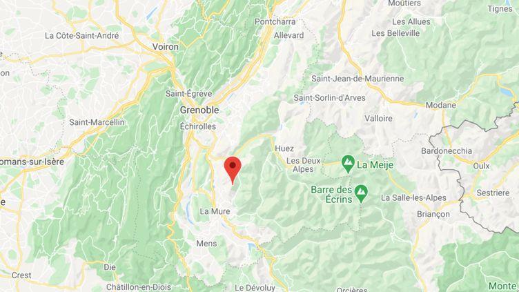 Le mont Tabo (Isère). (FRANCEINFO)