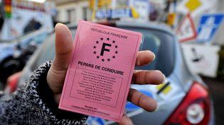 Selon un sondage publié le 9 juin 2014, 53% des conducteurs français ont déjà perdu des points sur leur permis de conduire. (MYCHELE DANIAU / AFP)