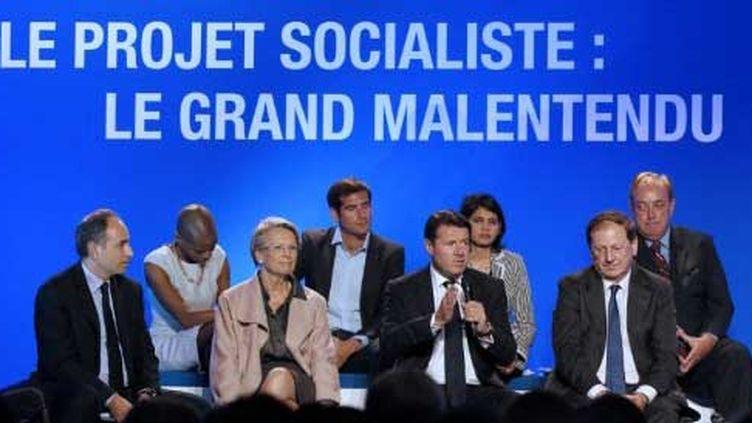 La convention de l'UMP sur le projet PS (18/10/2011) (AFP)