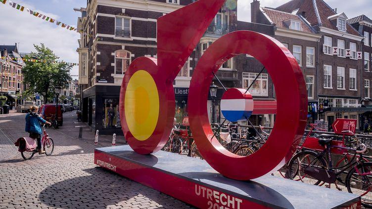 Utrecht à l'heure du Tour de France (LEX VAN LIESHOUT / ANP)