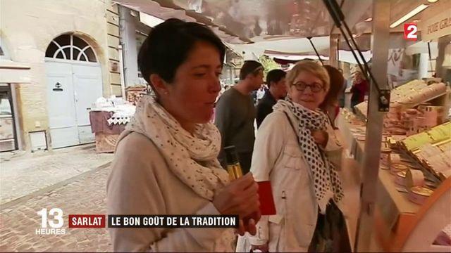 Corrèze : le marché de Sarlat, le bon goût de la tradition
