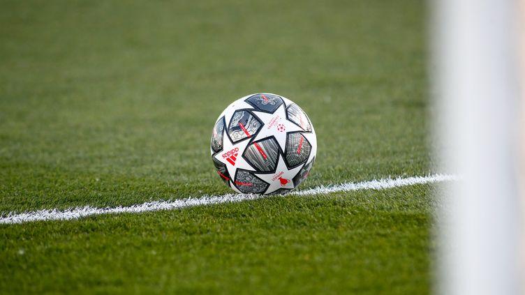 Ballons de la Ligue des champions 2021(illustration). (OSCAR BARROSO / SPAIN DPPI / AFP)