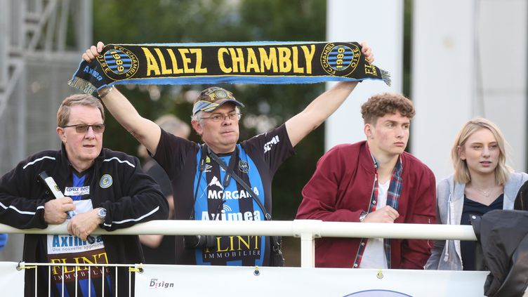 Match Chambly-Béziers le 4 mai 2018. (FRED DOUCHET / MAXPPP)