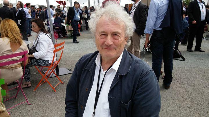 José, militant socialiste du Nord, au congrès du PS à Poitiers (Vienne), le 6 juin 2015. (MATHIEU DEHLINGER / FRANCETV INFO)