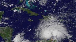 L'ouragan Maria. (HO / NOAA-NASA GOES PROJECT)