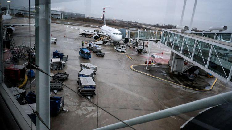 Le tarmac de l'aéroport Roissy-Charles-de-Gaulle, le 18 janvier 2016. (MICHAEL BUNEL / NURPHOTO / AFP)