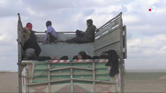 Syrie : les femmes de jihadistes interceptées par les forces arabo-kurdes
