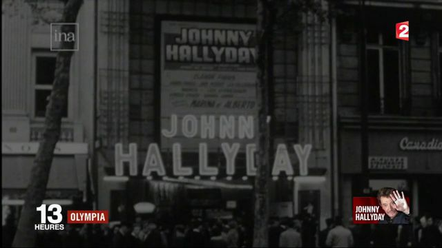 Johnny Hallyday : une longue histoire d'amour avec l'Olympia