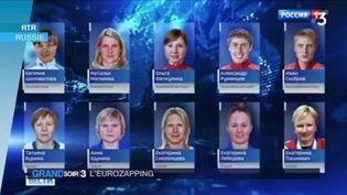 28 athlètes russes ont été blanchis. (FRANCE 3)