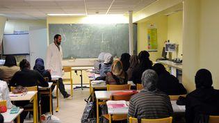 Dans le lycée privé musulman Averroès, à Lille (Nord), le 16 avril 2009. (MAXPPP)
