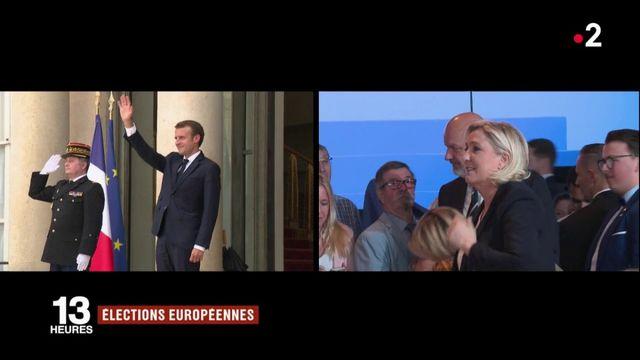 Elections européennes : un duel entre Emmanuel Macron et Marine Le Pen ?