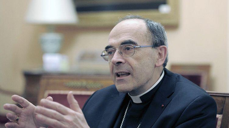 (Le cardinal Philippe Barbarin, archevêque de Lyon, est accusé de ne pas avoir réagi assez vite © MaxPPP)