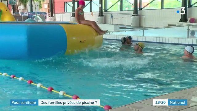 Pass sanitaire exigé pour entrer dans les piscines