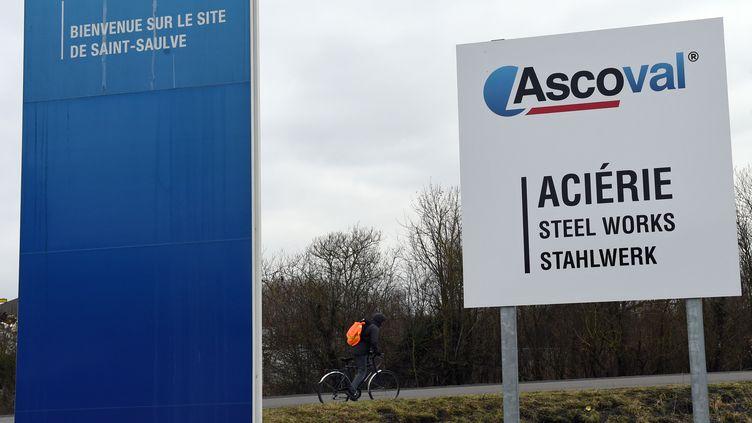 Le site d'Ascoval à Saint-Saulve (Nord), en janvier 2018. (FRANCOIS LO PRESTI / AFP)