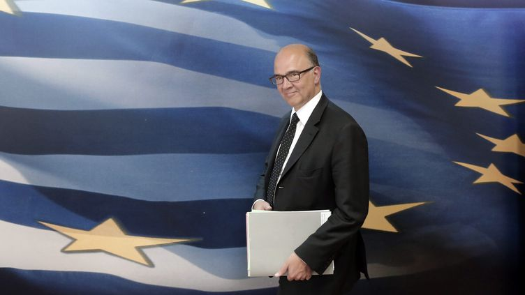 (Pierre Moscovici le 27 aout 2014©MAXPPP)
