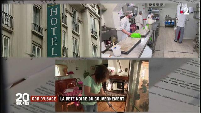 CDD d'usage : la bête noire du gouvernement