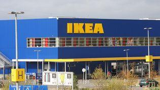 Le magasin Ikea de Thillois, en banlieue de Reims (Marne), le 7 novembre 2013. (MAXPPP)