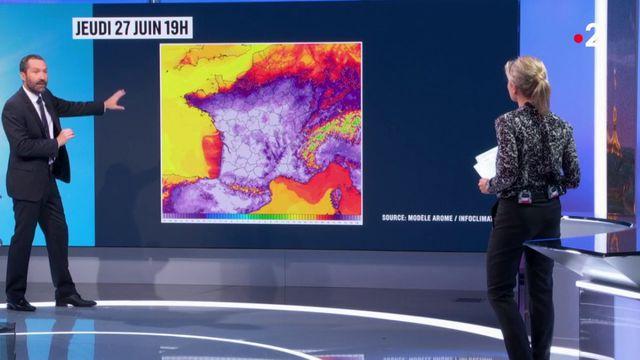 Canicule : de nouveaux records absolus de chaleur pourraient être battus