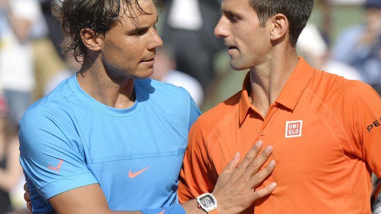 """""""Sa force mentale et son niveau de tennis sont difficiles à égaler"""", a déclaré Nadal (MAXPPP)"""