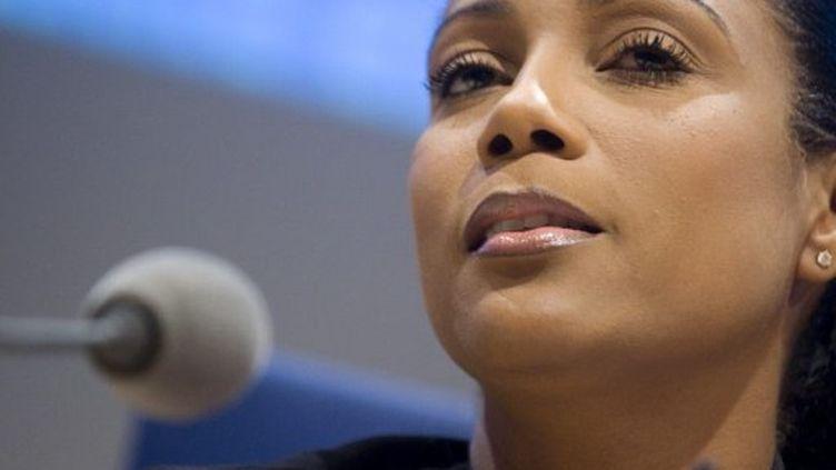 Christine Kelly, l'un des neuf membres du CSA. (MARTIN BUREAU / AFP)