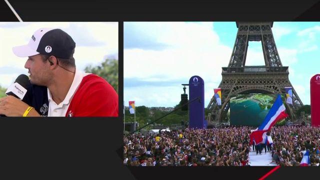 """""""Le rêve ultime c'est de faire les Jeux dans son pays"""" Florent Manaudou prouve son investissement pour les Jeux de Paris 2024 ! Trois ans ce n'est pas long, nous avons hâte aussi !"""