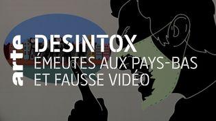 Désintox. La fausse vidéo des émeutes contre le couvre-feu aux Pays-Bas (ARTE/2P2L)