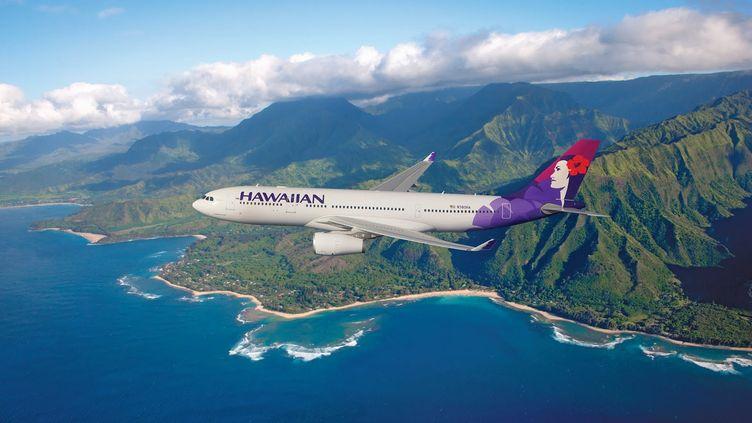 Un adolescent dit avoir passé cinq heures et demie dans le train d'atterrissage d'un avion de la compagnie Hawaiian Airlines, dimanche 20 avril 2014. (DR)