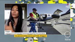 La chanteuse Anggun. (France 2)
