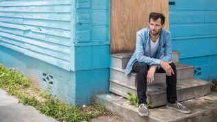 Le chanteur anglais Hugh Coltman à la Nouvelle-Orléans en 2017  (Crista Rock)