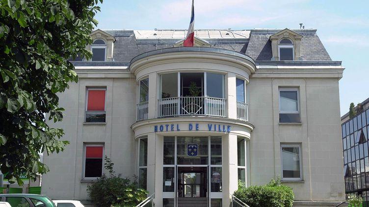 L'hôtel de ville d'Enghien-les-Bains (Val-d'Oise), en 2002. (MAXPPP)