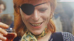 David Bowie en février 1974 à Amsterdam.  (Gijsbert Hanekroot / Getty Images)