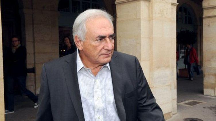 Dominique Strauss-Kahn à Paris le 8 septembre 2011 (AFP - MICHEL GANGNE)