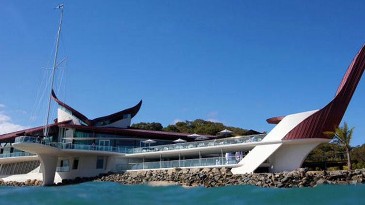 Le siège du Hamilton Island Yacht Club dans le Queensland