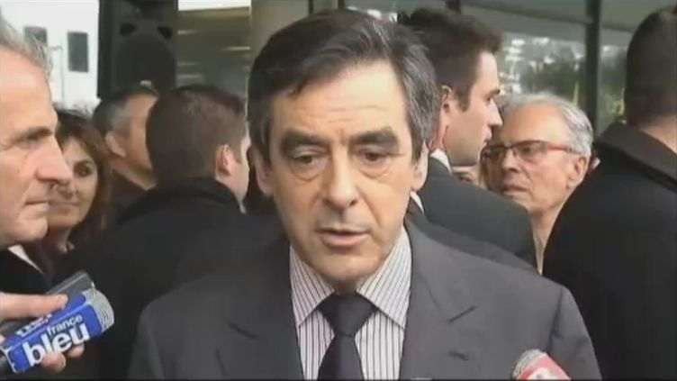 François Fillon (Toulon), le 21 novembre 2011. (France 2)
