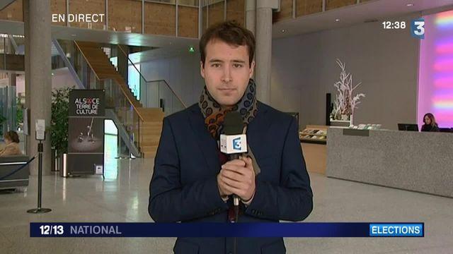 Régionales : Philippe Richert (LR) remporte la triangulaire dans le grand Est