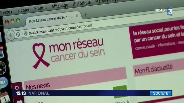 """""""Mon réseau cancer du sein"""", un réseau social pour rompre la solitude"""