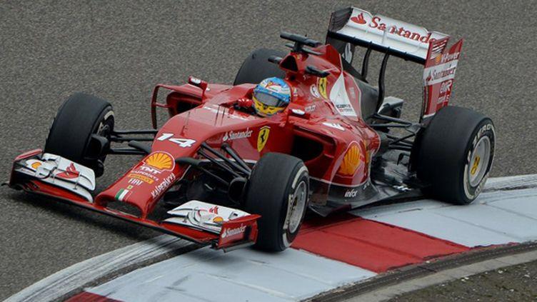 Effet Marco Mattiacci chez Ferrari avec Alonso meilleur temps des essais libres du GP de Chine ? (MARK RALSTON / AFP)