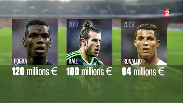 Football : un transfert à 120 millions d'euros pour Paul Pogba