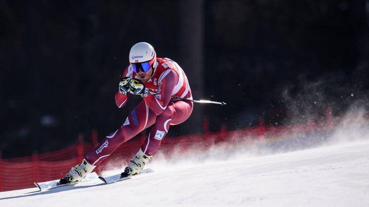 Le Norvégien Kjetil Jansrud a pris date pour les JO 2018 en remportant la descente de Jeongseon (ED JONES / AFP)