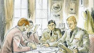"""Complément d'enquête. Lafarge : avant les """"arrangements"""" avec Daech, la collaboration avec les nazis (FRANCE 2)"""