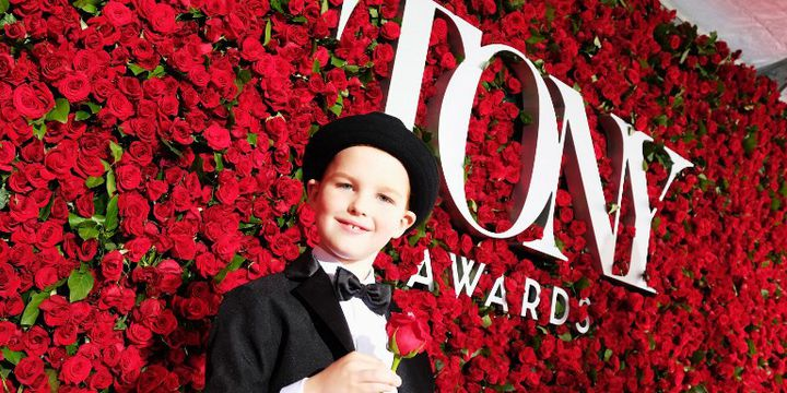 Iain Armitage aux Tony Awards (Juin 2016)  (LARRY BUSACCA / GETTY IMAGES NORTH AMERICA / AFP)