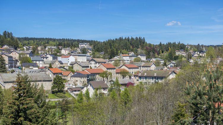 La commune de Chambon-sur-Lignon (Haute-Loire), le 23 mai 2019. (GUY CHRISTIAN / HEMIS.FR / AFP)